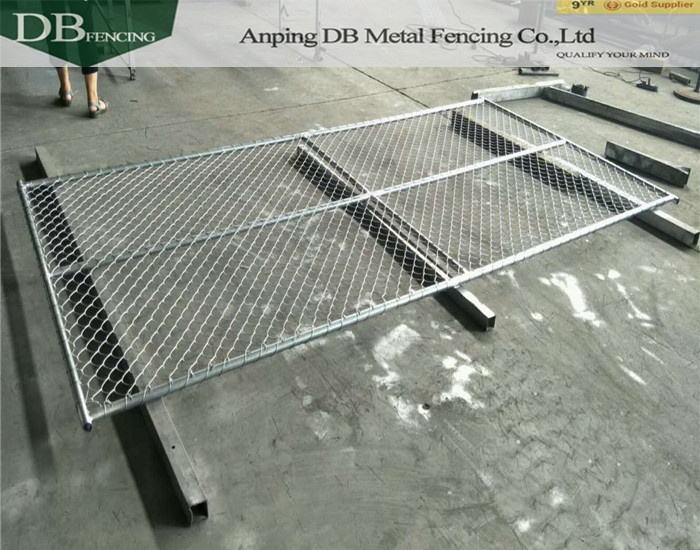 Professional Factory Brace Temporary Fence /cheap chain link fencing