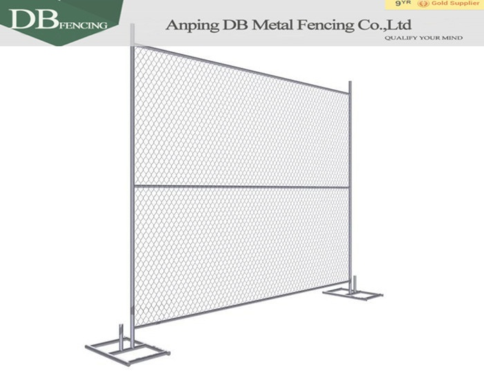 Privacy Screen Temporary fence / Temporary Chain Link Fence Panels / portable event fencing for sale