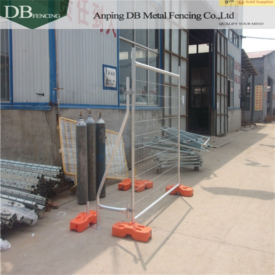 OD 32mm wall thick galvanized temporary fencing panels