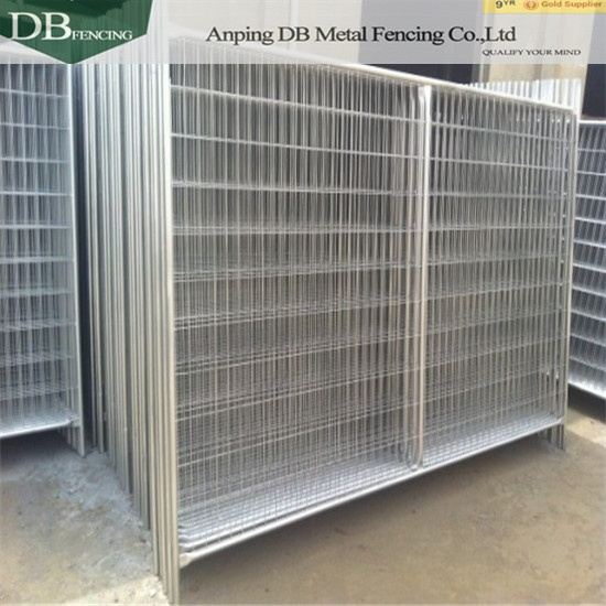 Sydney Portable Construction Temporary Fencing Panels 2100mm x 2400mm 32mm tube wall thick 2.0mm Infilled Mesh 4.0 x 60 x 150mm