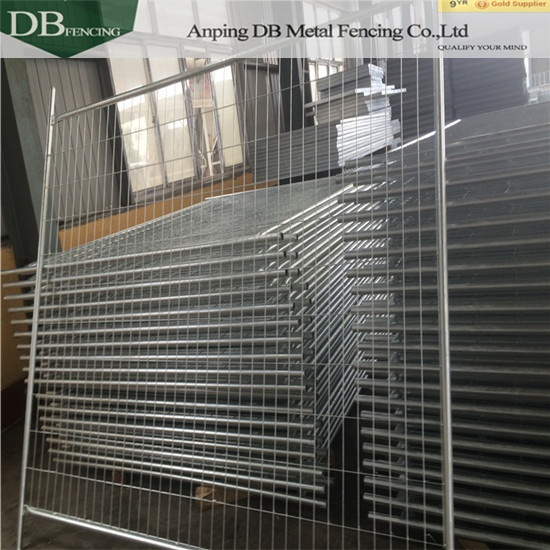 AS4687-2007 standard Temporary Fencing Panels For Sydney and NZ market  32mm tube wall thick 2.0mm Infilled Mesh 4.0 x 60 x 150mm