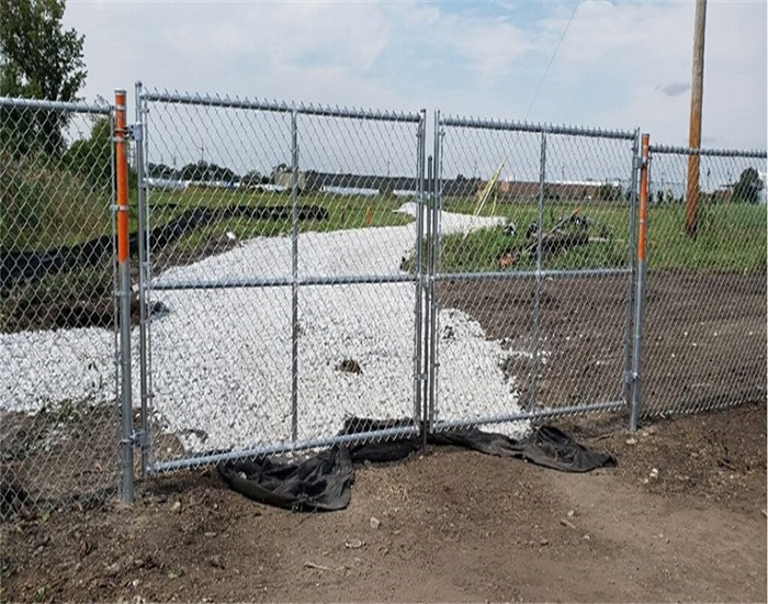 6 x 12 Chain Link Temporary Fence Panel