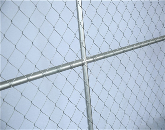 6x10 Temporary Chain Link Fence Panels Construction