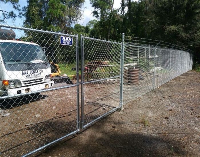 6x10 chain link construction fence panels