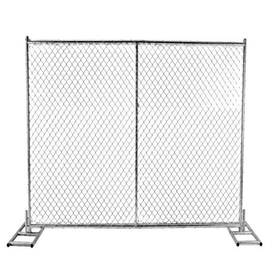High quality galvanized temporary chain link panels lightweight 11.5 gauge