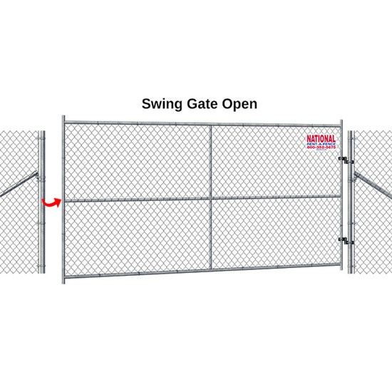 Chain Link Fence panels comply with ASTM A392-06 standards