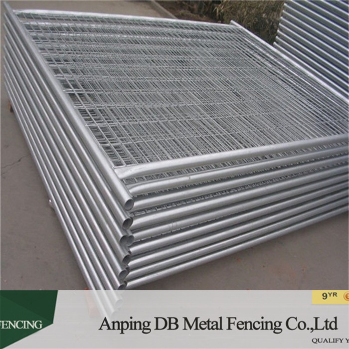 Heavy duty portable galvanized temporary fence panels for construction zone (china factory)