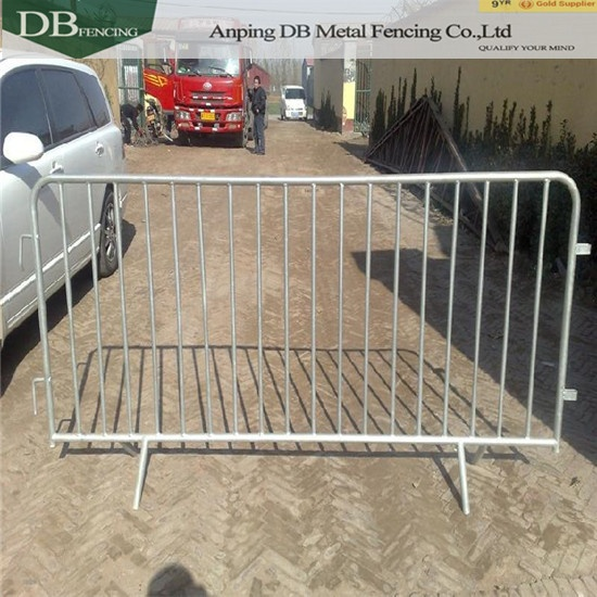 Steel Barricades Used In Any Event, Exhibitions, Outdoor Events