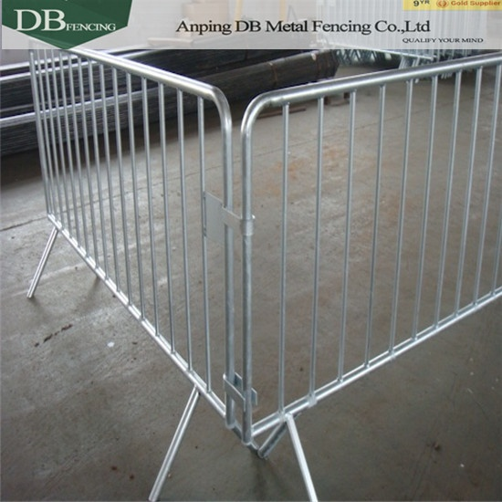 3.5 feet x 6.5 feet Steel Crowd Control Barrier China Supplier