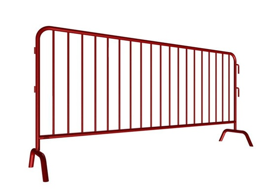 Hot Dip Galvanized Crowd Barriers For Sale 43'' high 1.5in Tube