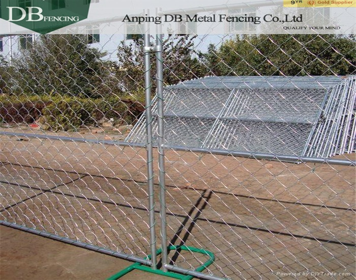 How To Install Temporary Chain Link Fence