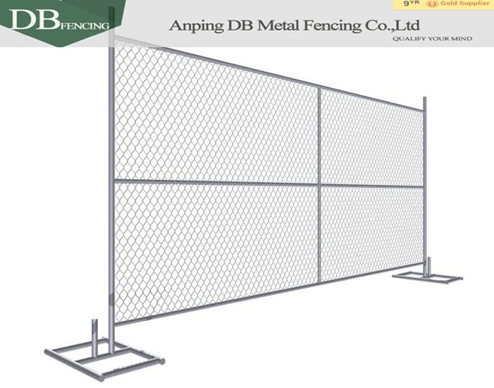 keep property safe and secure New Heras Style Temporary Fence Security Fencing Panel for America market