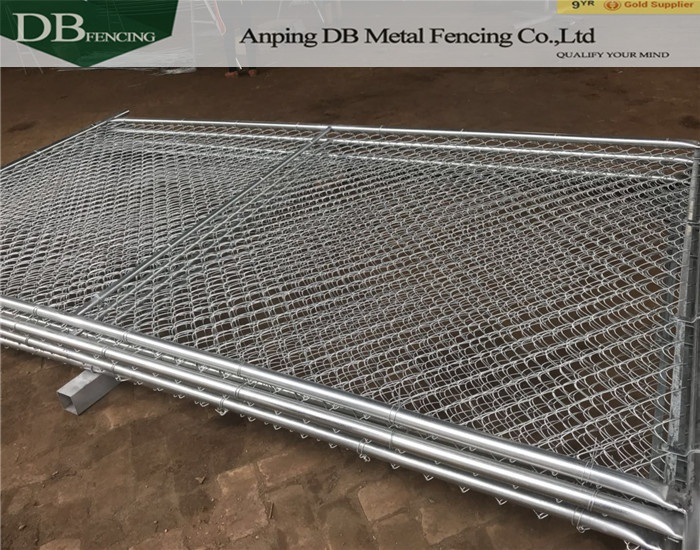 America galvanized Safety Temporary Chain Link Fence Panels