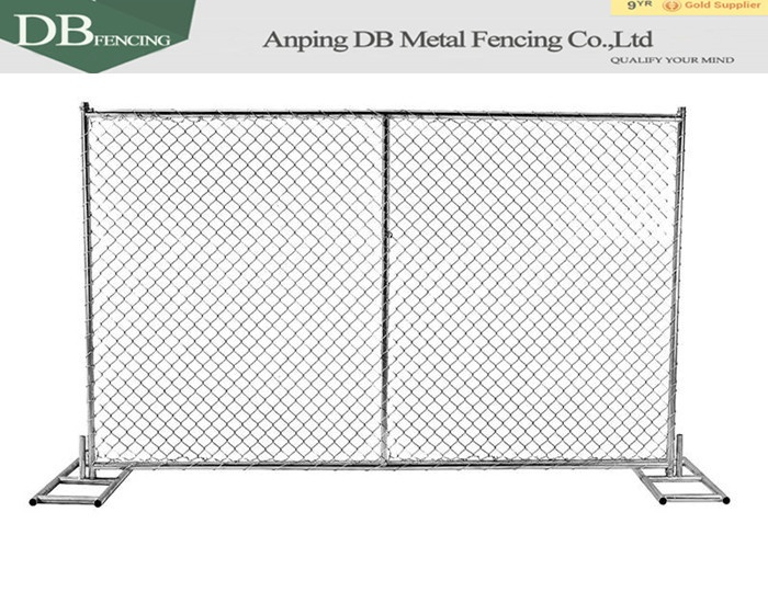 High standard construction temporary fence for Canada