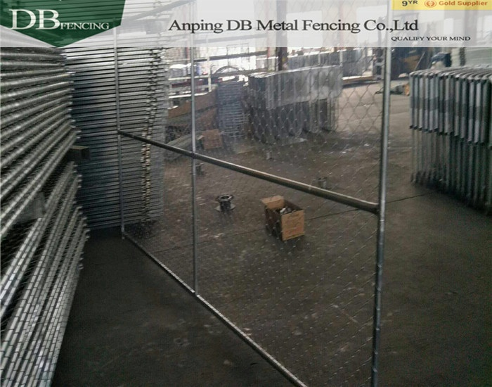 hot sale America standard galvanized chain link temporary fence panel