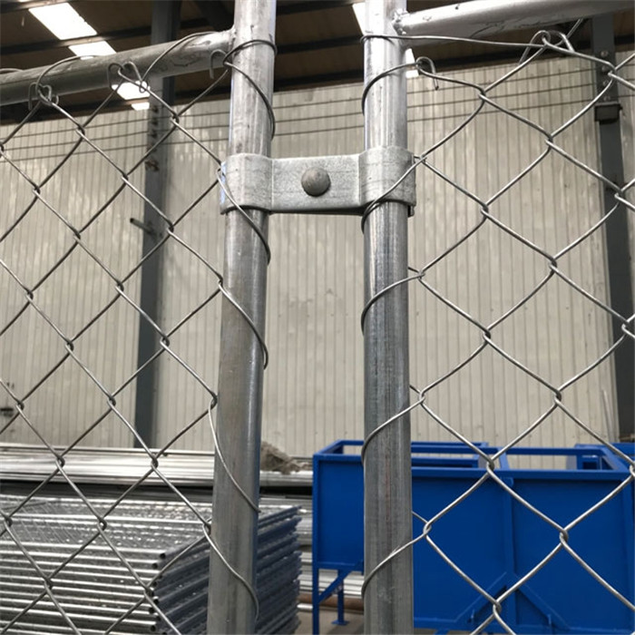 temporary chain link fence clamps