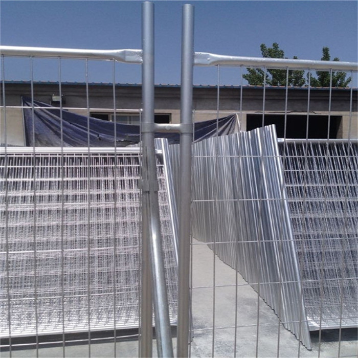 temporary fence steel clamps connected two panels