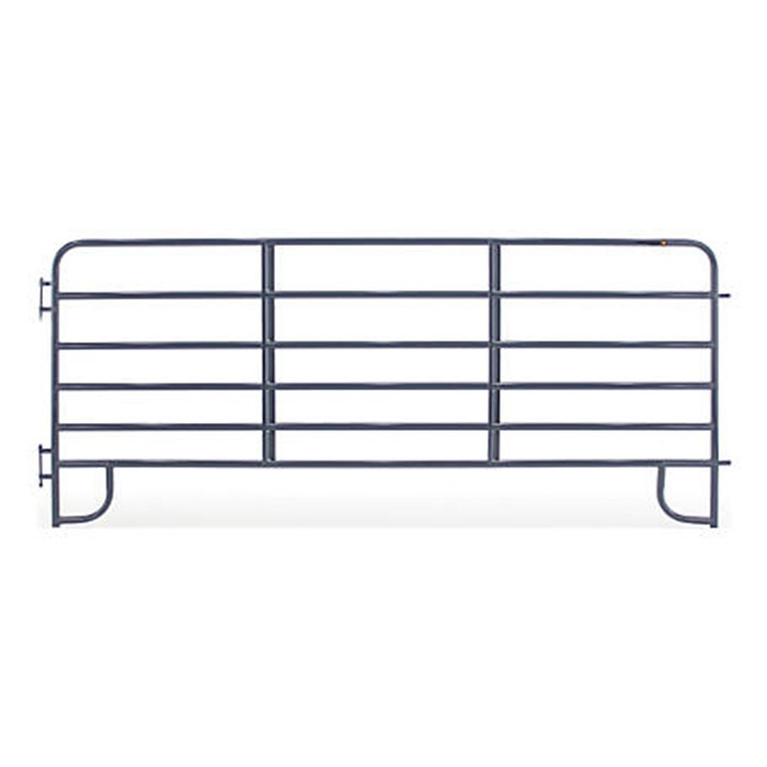 corral panels with gray color