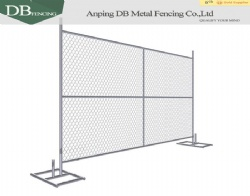 Used temporary fence used chain link fencing for sale