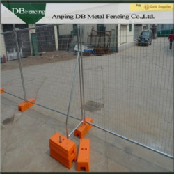 Large stocks of temporary fences in warehouses