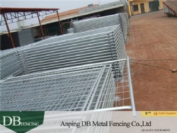 2.1X2.4M Sturdy hot dipped galvanised after welding temporary fence panel