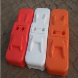 Manufactured in high-density polyethylene temporary fence blocks