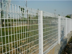 1.8 * 2.0m High visibility Roll Top Fence utendKorea, New Zealand, Australia, Canada Housing Estate