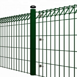 Electro galvanized 1.5 * 2.5m Roll Top Fence for South Africa Playground fencing