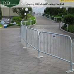 6.5-Foot To 8-Foot Long Steel Crowd Control Barrier For Sale