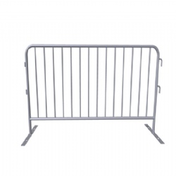 Easy installation 98(in) x 43(in)crowd barriers supply to Canada Demolition site
