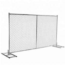 Temporary Chain Link Fence Ultimate Economical Solution